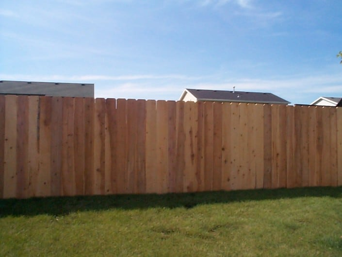 liberty fence and deck cedar fence
