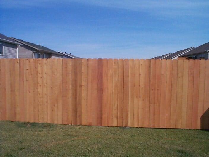 long lasting cedar fence