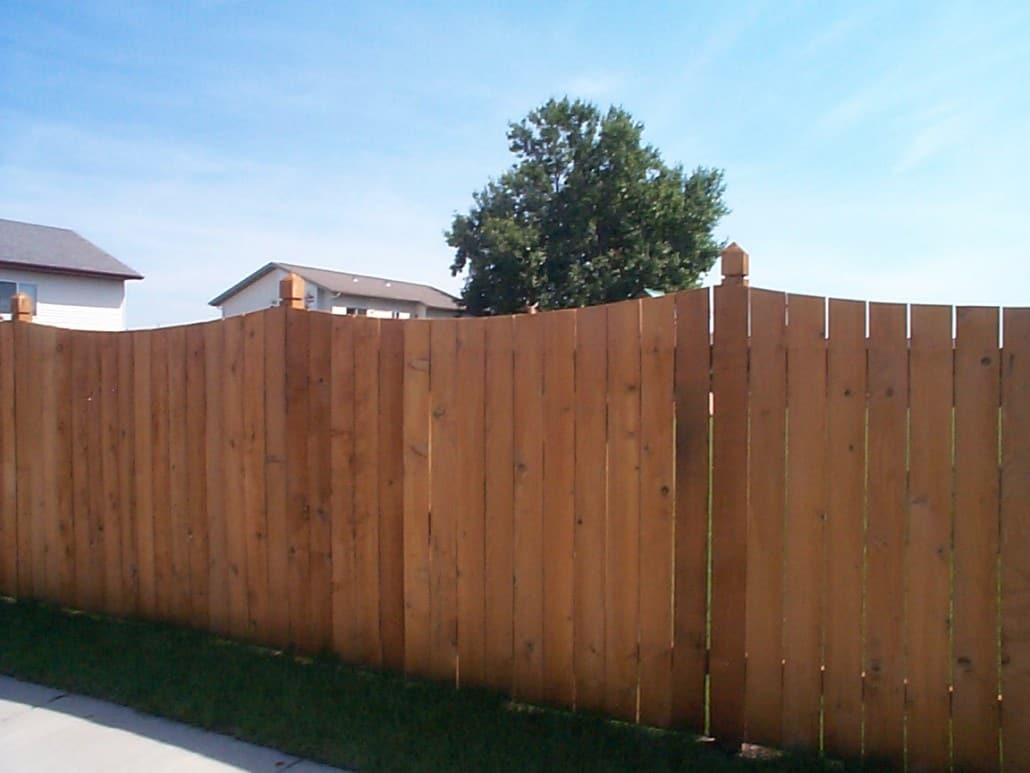 Privacy fences liberty fence and deck for Fences privacy