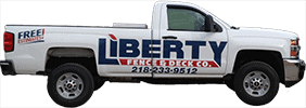 Work Truck for Liberty Fence Company
