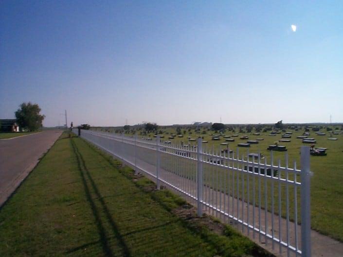 Decorative Aluminium Security Fence