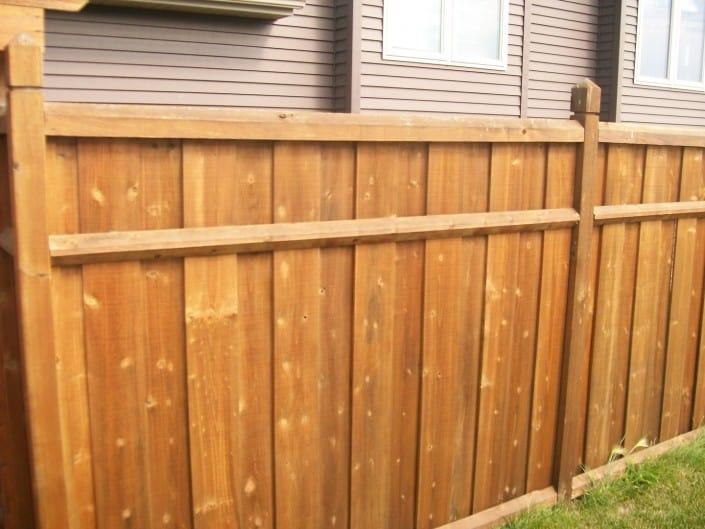 cedar fence for privacy