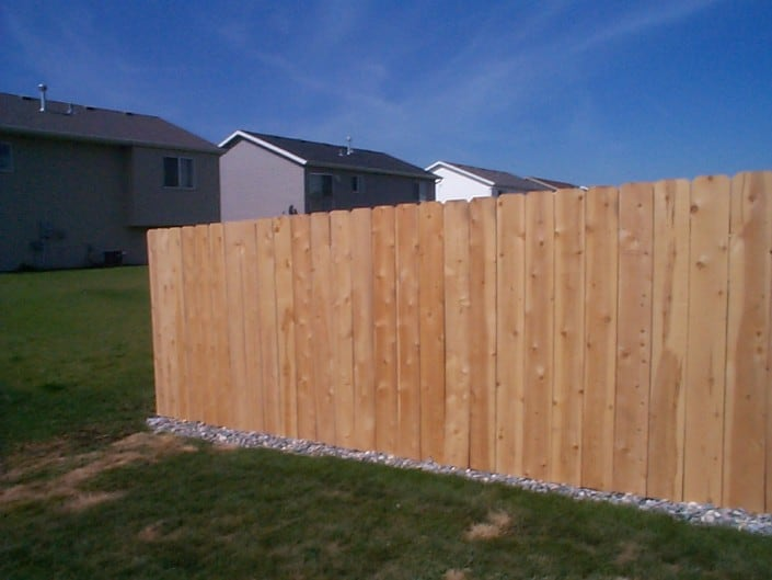 wood fence from liberty fence
