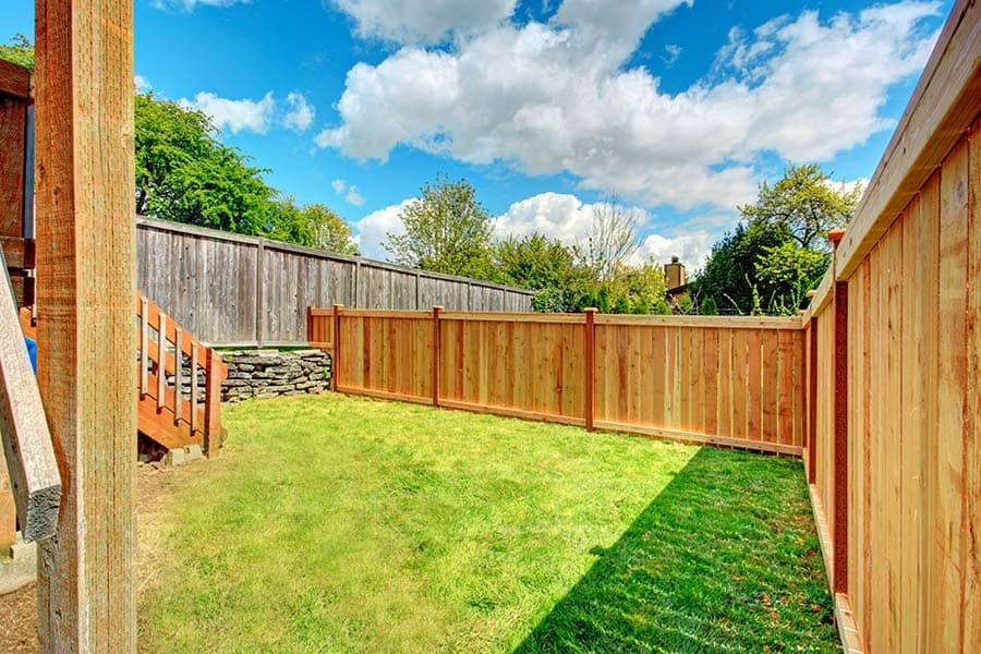 New Cedar Fence by Liberty Fence Company
