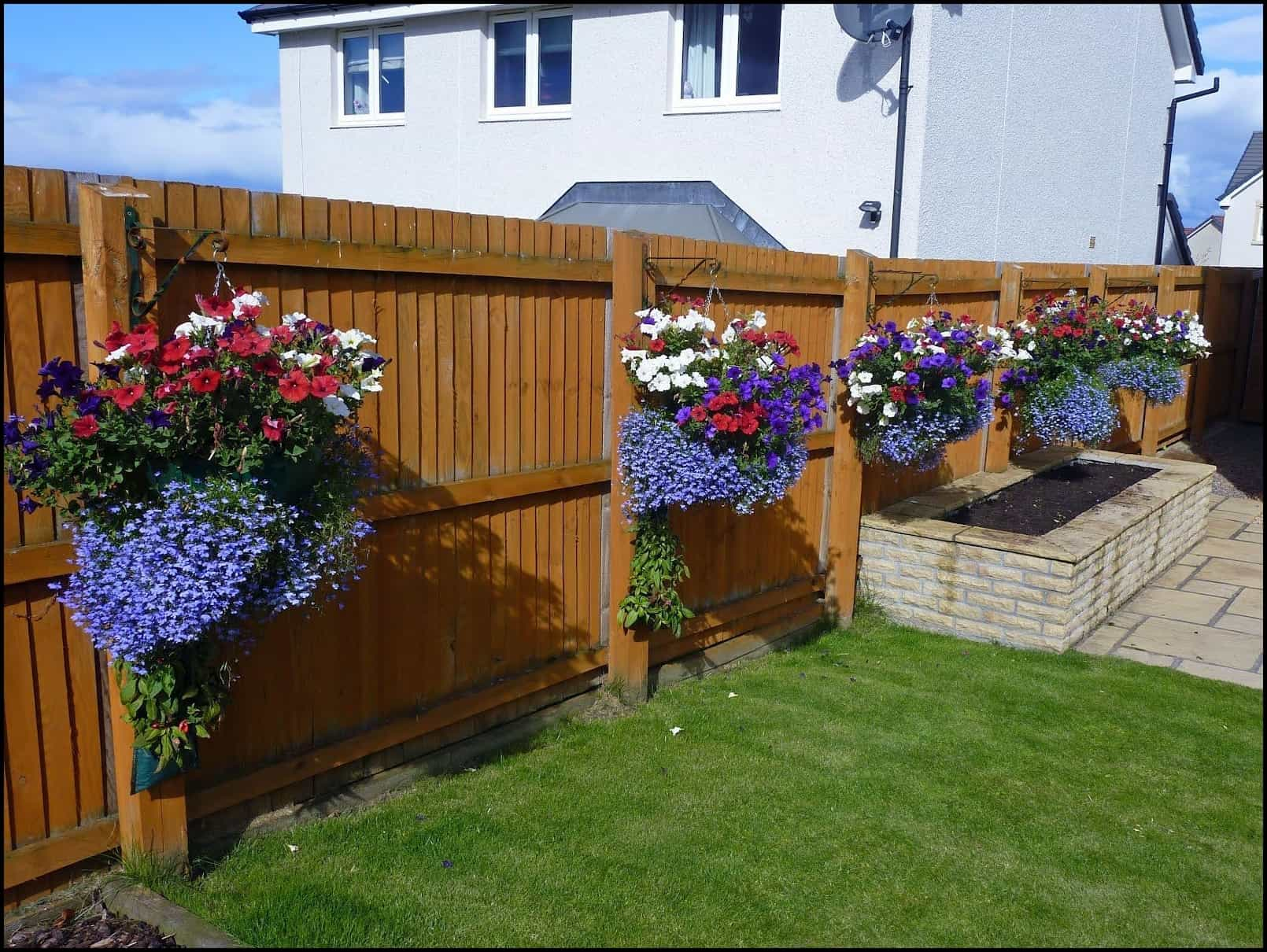 Pretty Wood Fence