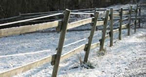 Bad Fence Footings