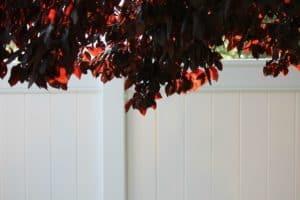 6 Ft White Vinyl Fence