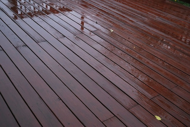 Weather proof decking