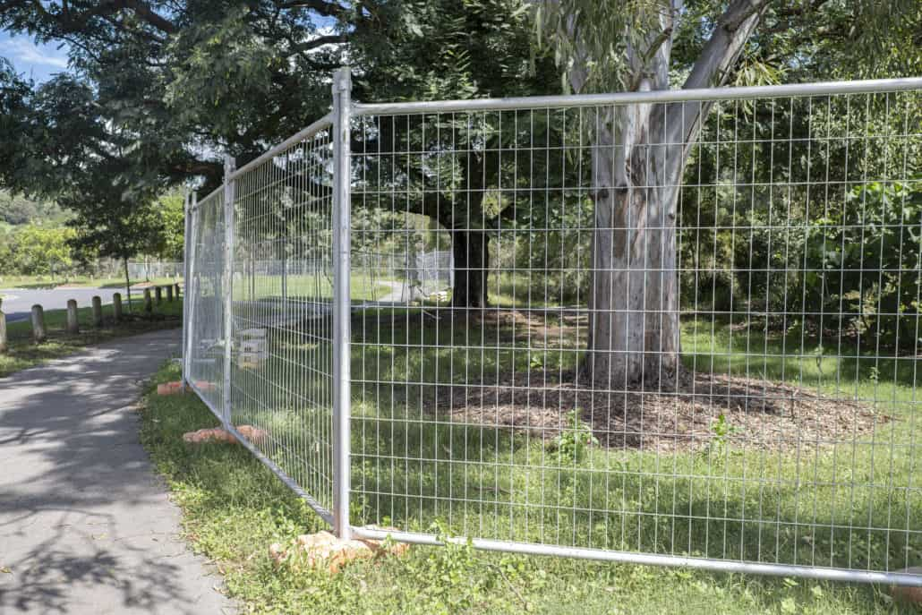 fence temporary